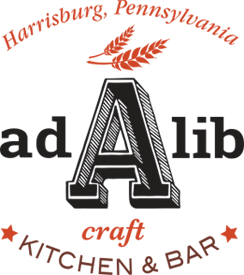 Ad Lib Craft Kitchen & Bar Logo designed by Campbell, Harrington & Brear.