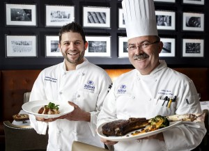 Chef John Reis and Chef Anthony Bianco at Ad Lib Craft Kitchen & Bar in Harrisburg, PA