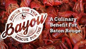 Rescue For The Bayou - A Culinary Benefit For Baton Rouge logo